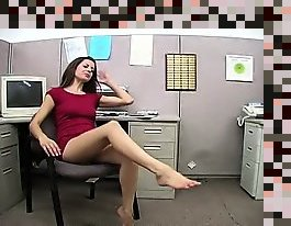 office foot fetish